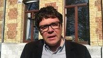 Pierre-Yves Trillet, directeur des routes au SPW Arlon parle des aménagements de Gouvy, une première wallonne