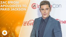 Zac Efron's trying to make it up to Paris Jackson!