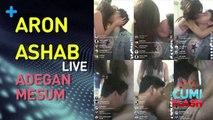 Edan! Aron Ashab Live Adegan Mesum Bareng Pacar di Sosmed - CumiFlash 30 Maret 2017