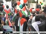 """Represión israelí deja 50 palestinos heridos en el """"Día de la Tierra"""""""