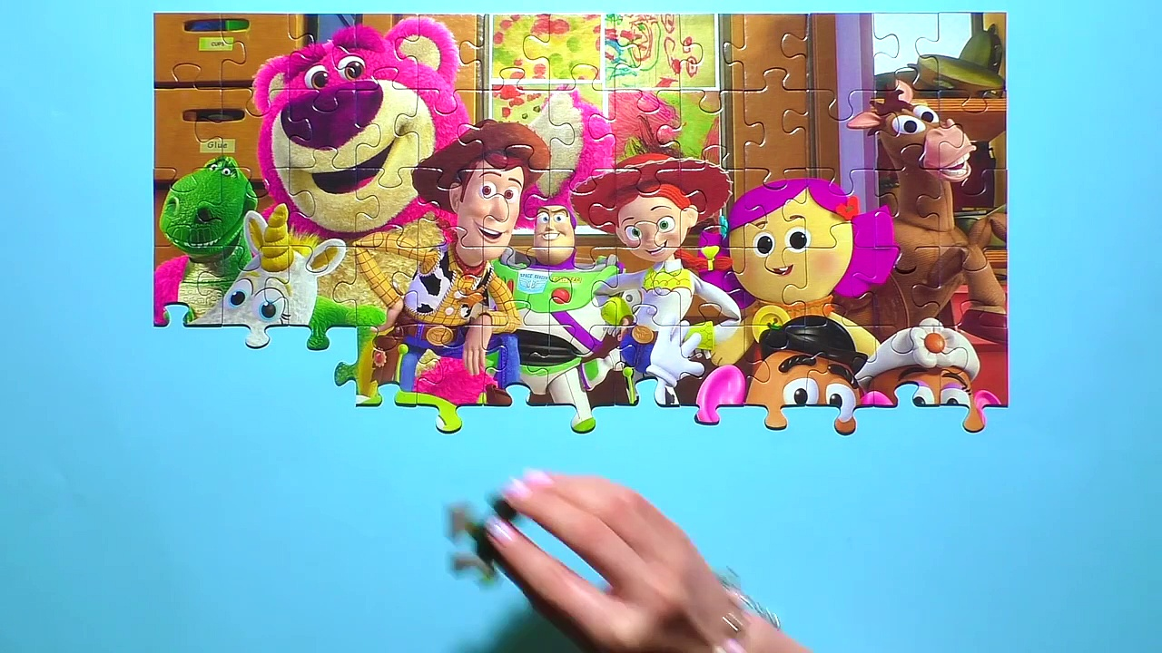 Learn Puzzle TOY STORY Potato Head,