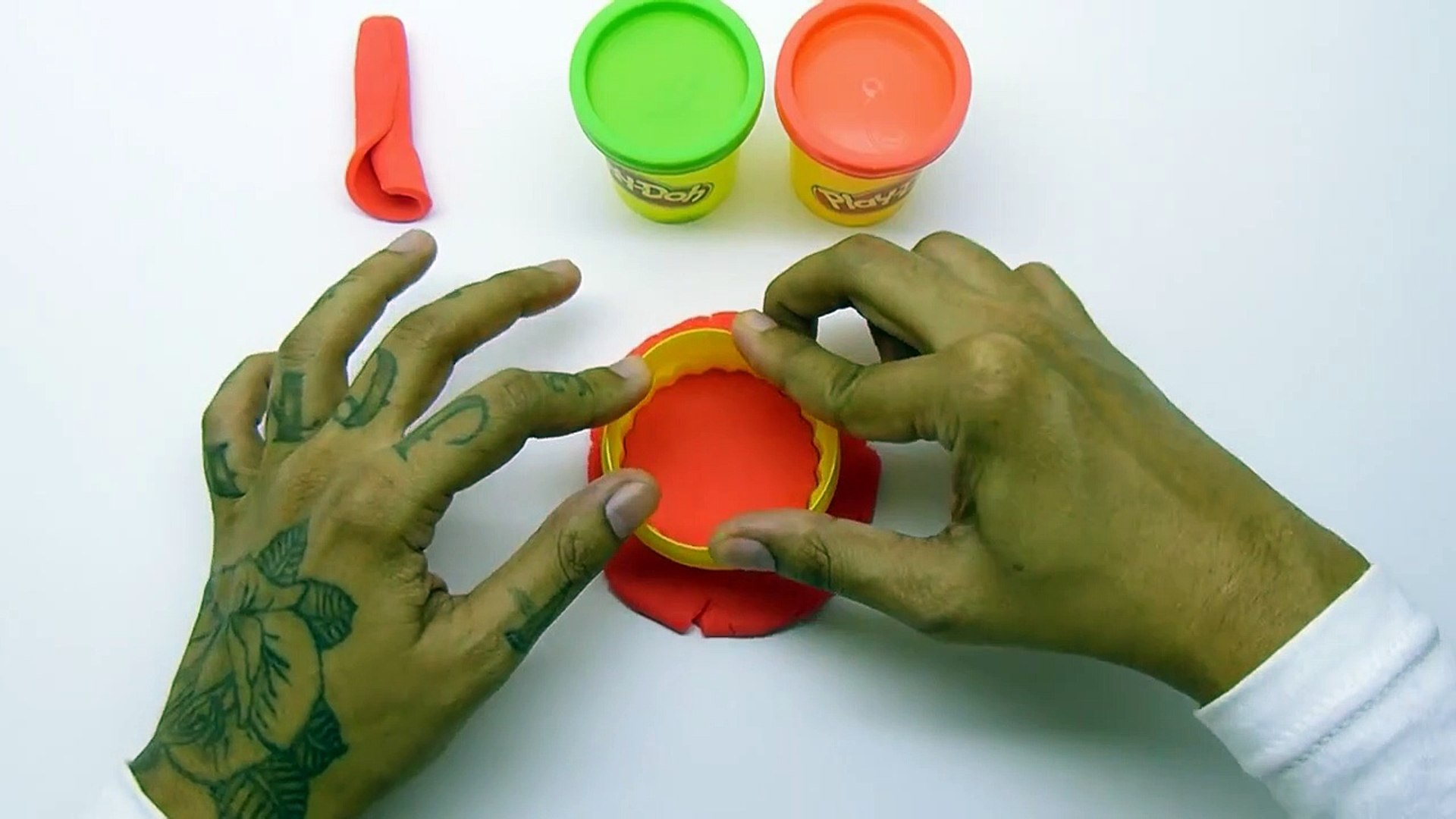 Play Doh ROSE How to make the Best ed Rose easy DIY