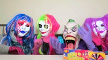 Spiderman vs Frozen Elsa vs Joker Squad! Jelly Bean Boozled! - Funny Superheroes-hHtMm6