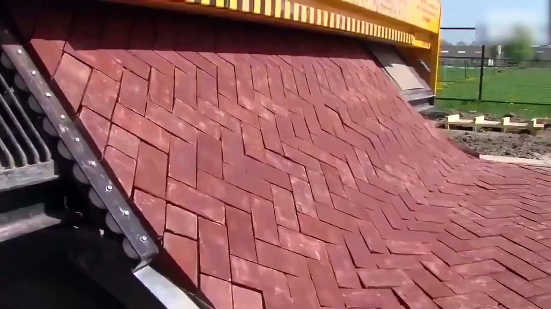 Latest Technology 2017 Road Printer Capable of Laying Bricks Perfectly on The Ground-s6Q2P