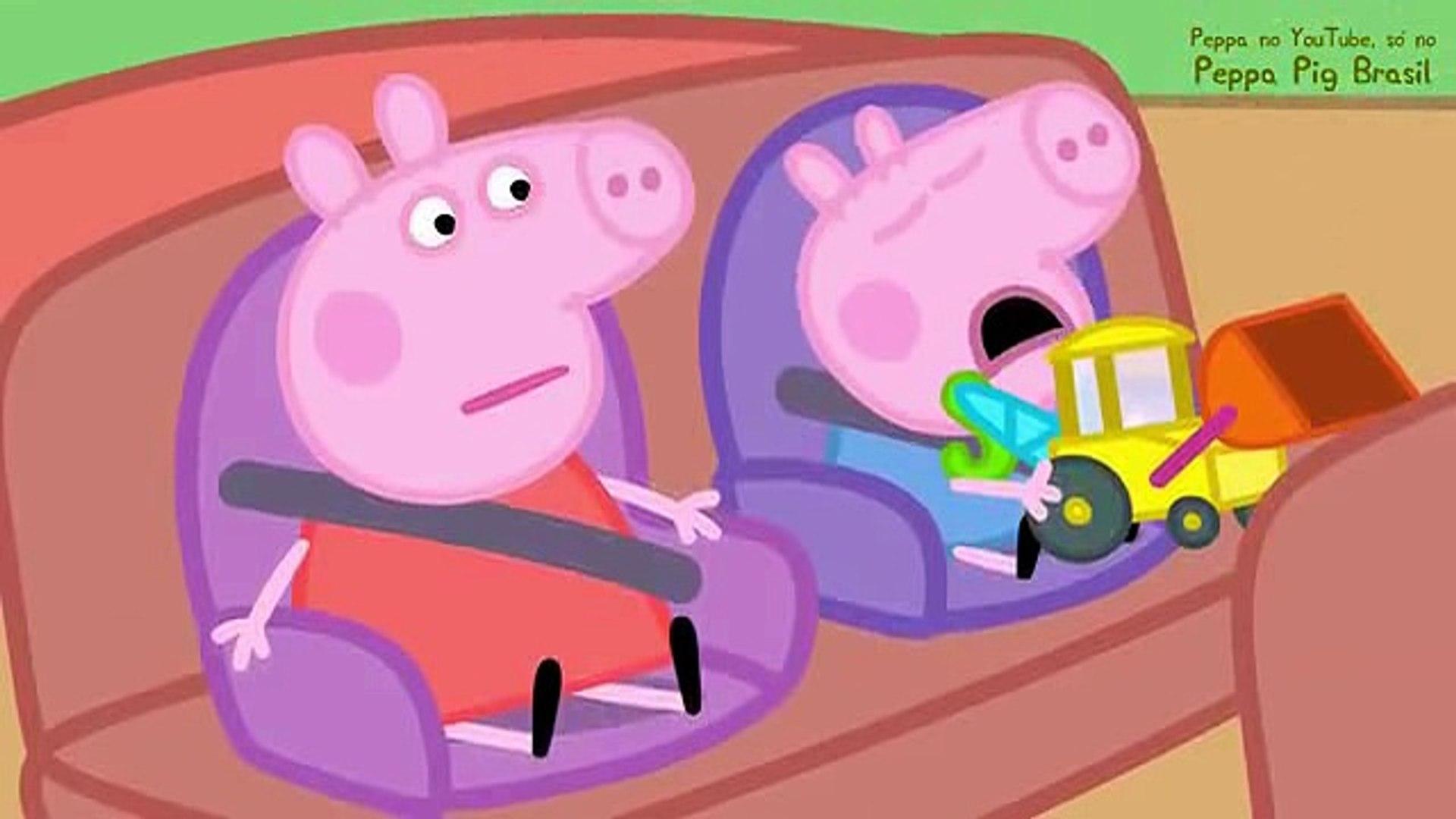 Peppa Pig Em Portugues Escavacao Na Estrada Video Dailymotion