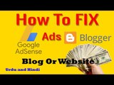 Google AdSense ads are not displayed on my Blogger's Blog (Solved) -Dailymotion