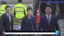 South Korean president arrested in corruption scandal