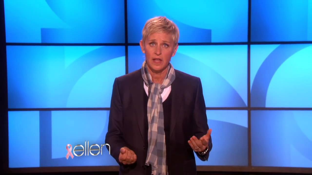 Ellen Breast Cancer Awareness Tips