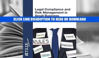 BEST BOOK Legal Compliance and Risk Management in Small Business (TILDE business) By Ian Birt