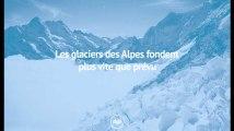 Les glaciers des Alpes fondent plus vite que prévu