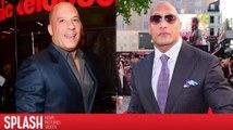 """Dwayne """"The Rock"""" Johnson et Vin Diesel seront séparés pendant la promotion de Fate of the Furious"""