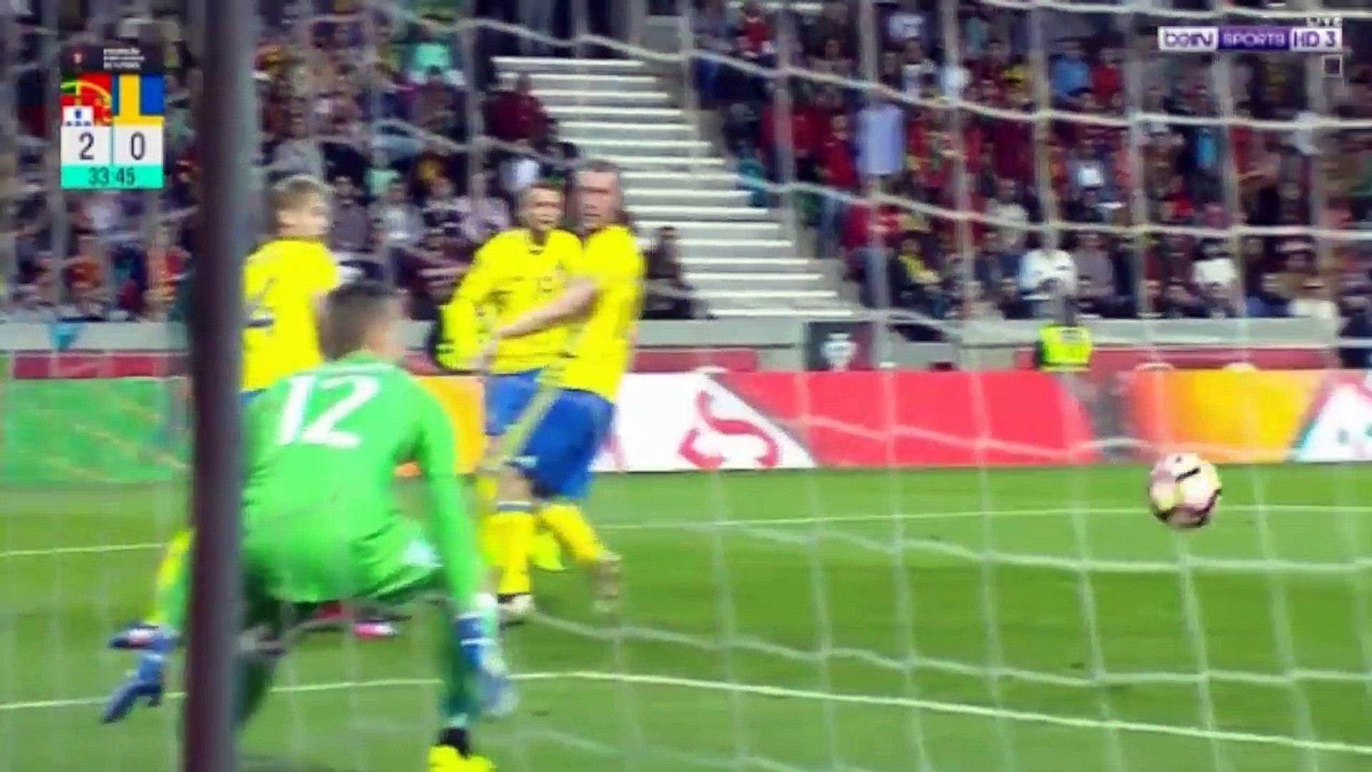 اهداف مباراة البرتغال والسويد 2-3 [ شاشة كاملة ] مباراة ودية [ HD ]