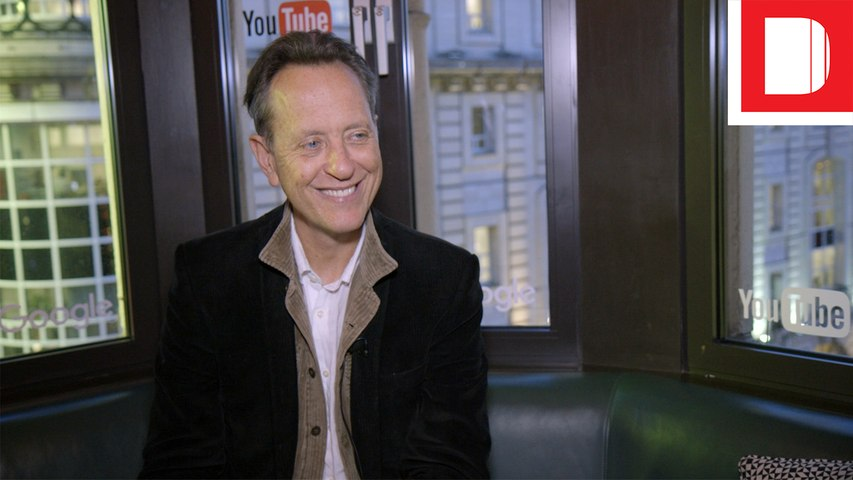 Richard E. Grant On Marketing A Perfume Without Paying For Advertising