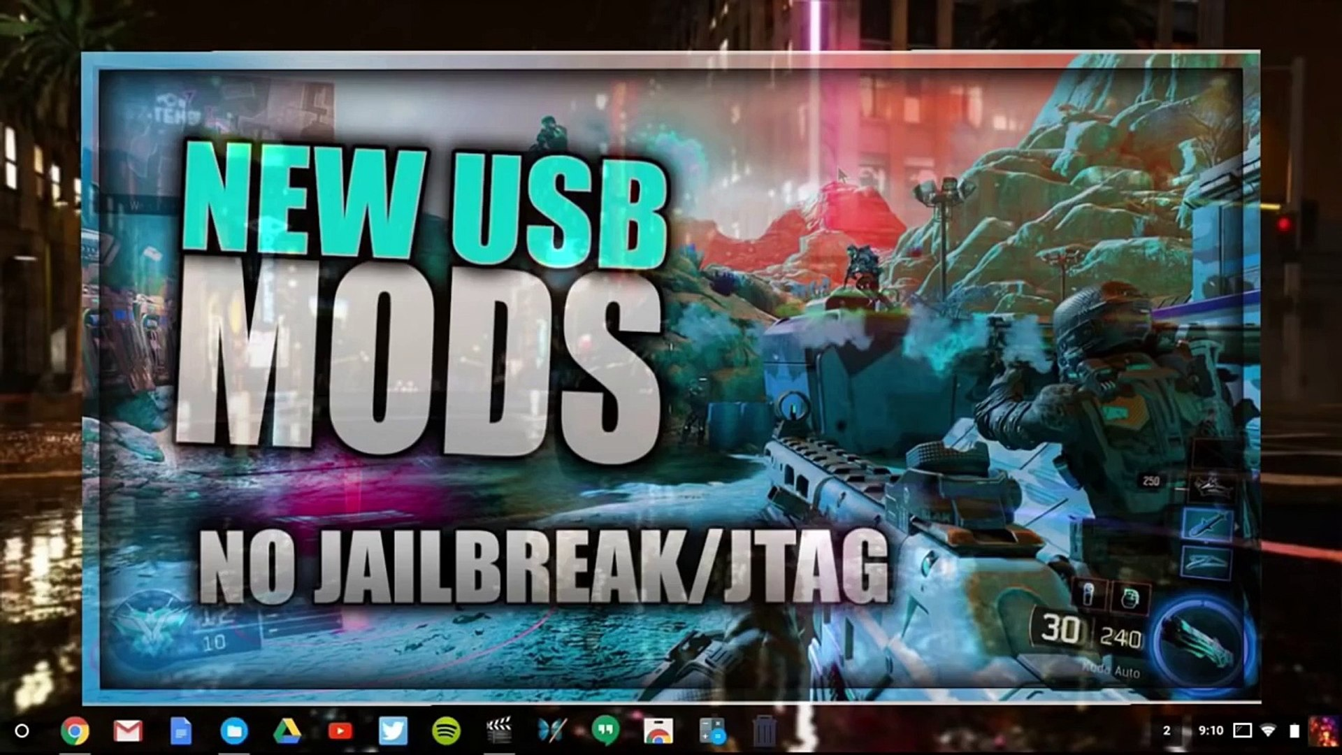 *WORKING* BO3 MOD MENU PS4 *NO JAILBREAK*!