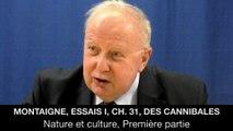 I. Montaigne, Essais I, ch. 31, Des cannibales, Jean-Louis POIRIER