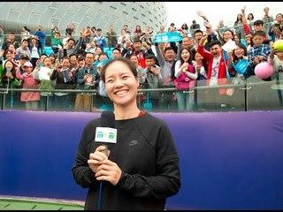 Li Na workshop at the ITF Junior Masters