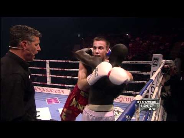 FIGHT: ANTONE vs HAGEMAN @ SHOWTIME57 - BRUSSELS