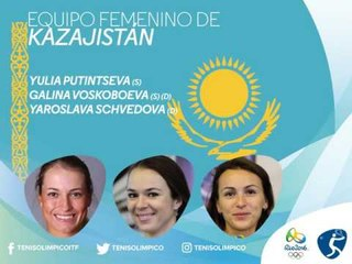 Rio 2016: clasificadas singles y dobles femenino TENIS