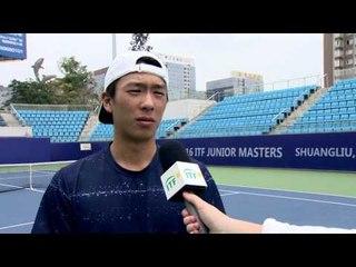 Hong Seong Chan advances to the ITF Junior Masters final
