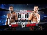 GLORY 35 Nice: Mladen Brestovac vs. Jahfarr Wilnis (Tournament Semi-Finals)