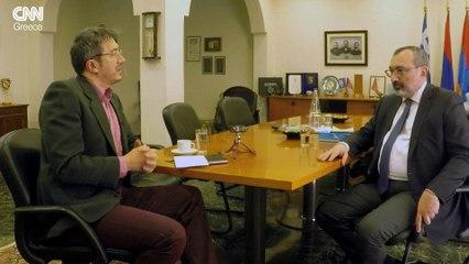 Συνέντευξη Γκαρέν Μιρζογιάν, ΥΠΕΞ του Ναγκόρνο Καραμπάχ
