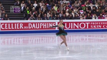 B.ESP(HD). Rika HONGO 本郷理華 FS - 2017 World Championships