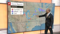 Dangerous storms to march across south-central US
