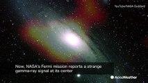 Fermi telescope detects gamma-ray signal from Andromeda galaxy