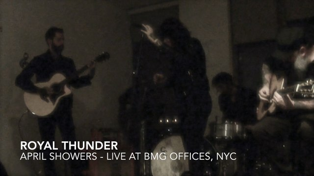"""Royal Thunder, """"April Showers"""" Live and Acoustic at BMG"""