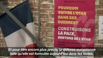 Jean-Luc Mélenchon présente son programme de politique étrangère