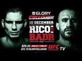 GLORY: Collision Rico vs. Badr on December 10th