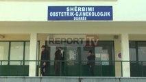 Report TV - Durrës, materniteti jashtë funksionit, digjen të gjitha pajisjet