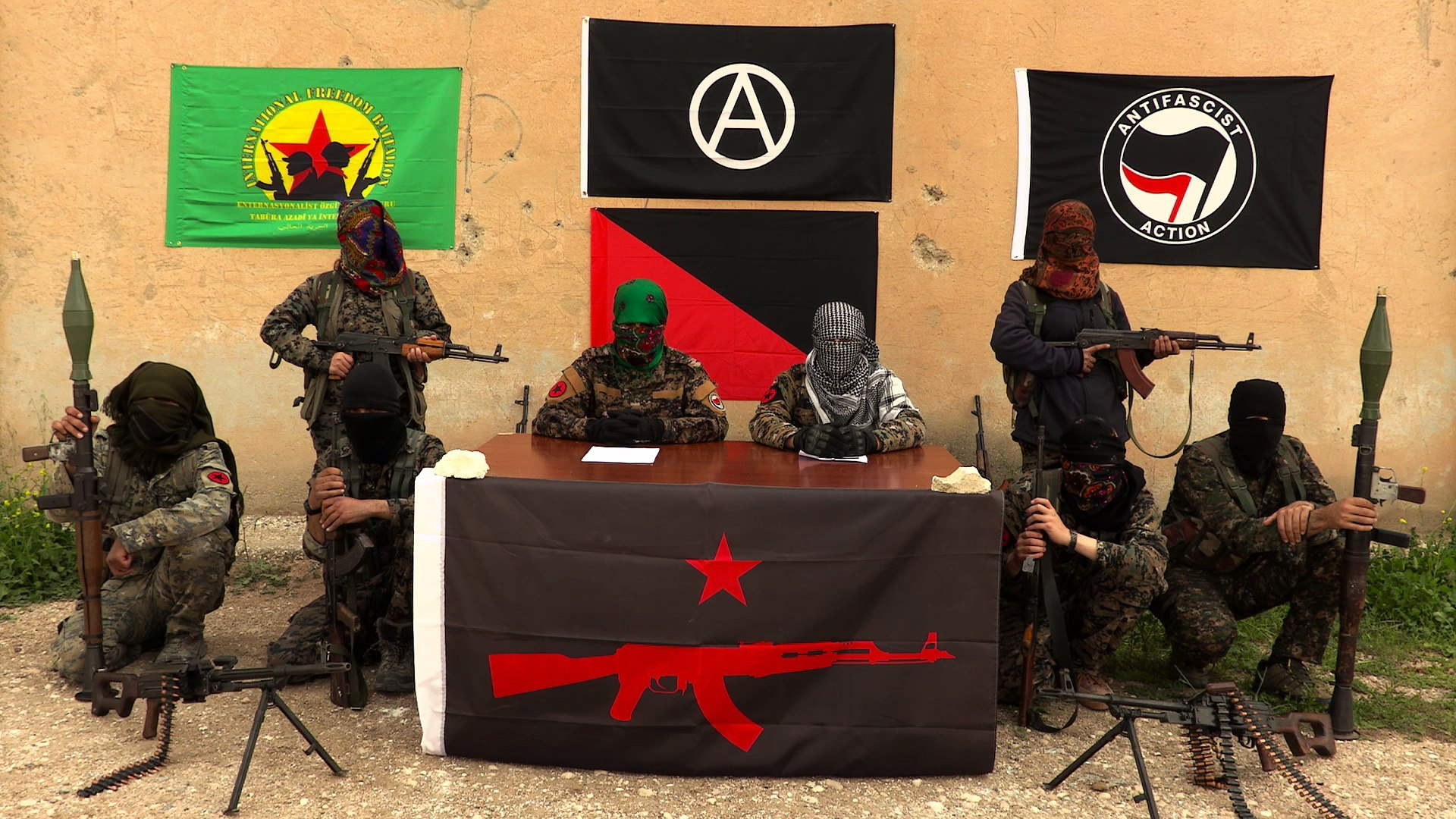 Anarchists in Rojava announce IRPGF - video dailymotion