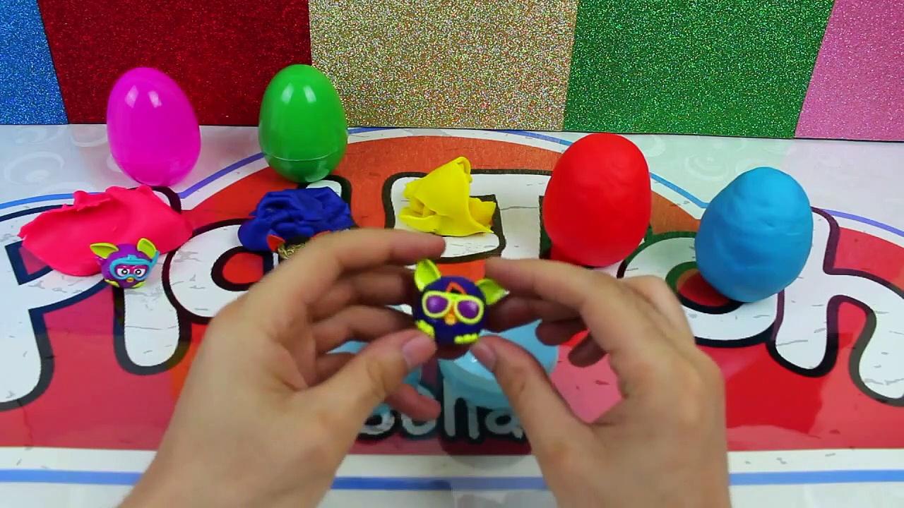 Furby Boom Surprise Eggs – Furby Play Doh Eggs-QhHLh6lmqp4da