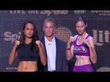 Dynamite 1: GLORY Kickboxing Weigh ins