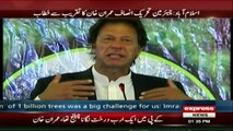 Chairman PTI address billiontree ceremony in Islamabad - 1st April 2017