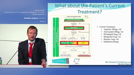 3.Applying the Heart Failure guidelines in the clinical practice? Dr M. Dupont  (ZOL, Genk)