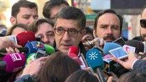 """Patxi López rechaza entrar en """"guerra de avales"""" con los otros candidatos"""