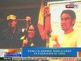 NTG: Pamilya Jimenez, nagluluksa sa pagpanaw ni Arvin 'Tado' Jimenez
