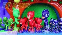 PJ Masks Duplicates Romeo Evil Minis Army Attacks PJ Mask Headquarters with Blind Bag Figurines-73hqLLWE3mA