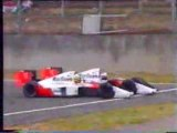 1989 Formule 1 Grand Prix Suzuka,Senna and Prost Crash