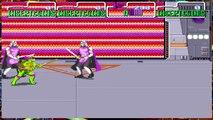 Teenage Mutant Ninja Turtles TMNT Arcade Game 1989 Retro last boss stage Krang and Shredder
