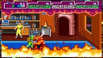 Teenage Mutant Ninja Turtles TMNT Arcade Game 1989 Retro Walkthrough All Boses and Cut Scenes