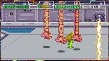 Teenage Mutant Ninja Turtles TMNT Arcade Game 1989 Retro Walkthrough stage 7
