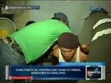 Mga armas at pakete ng hinihinilang shabu, narekober sa raid sa Cagayan de Oro