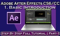 Adobe After Effects CC and CS6- Basic Introduction For Beginner(Hindi)   Part-1