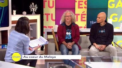 Interview de Danyèl Waro et de Zanmari Baré - Tournée Kazkabar 2017
