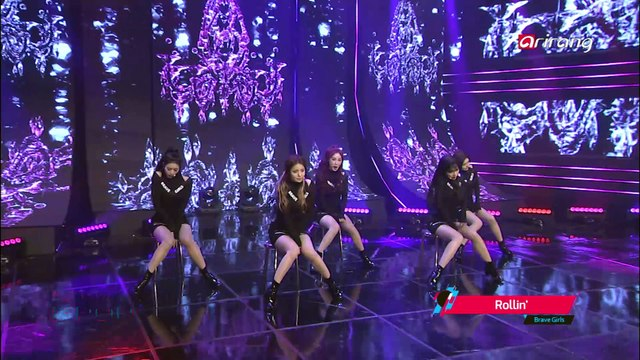[Simply K-Pop] Brave Girls(브레이브걸스) _ Rollin'(롤린) _ Ep.258 _ 033117
