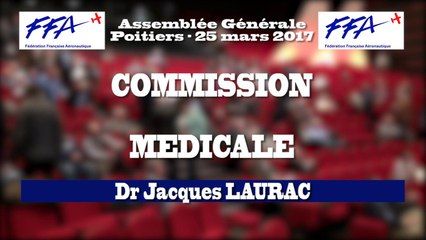 29 - FFA - AG2017 Poitiers - ATELIERS - COMMISSION MEDICALE