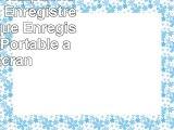 GHB 8 Go Dictaphone Numérique Enregistreur Numérique Enregistreur Mp3 Portable avec Ecran
